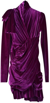 Balenciaga Purple Dress for Women