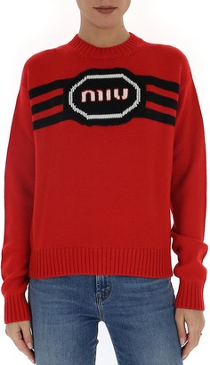 Miu Miu Logo Sweater