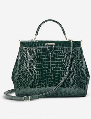 Aspinal of London Large Florence leather frame bag