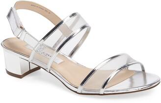 Nina Ganice Mesh Strap Sandal