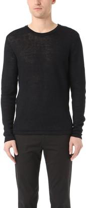 Theory Men's Andrejs New Irish Linen Crew Sweater