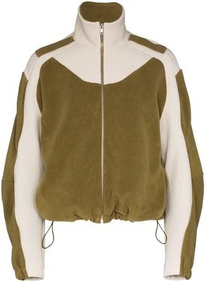 Gmbh Ecran zip through fleece jacket