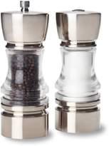 Olde Thompson Crown Pepper Mill and Salt Shaker Set
