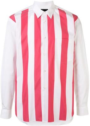 Comme des Garcons Striped Cotton Shirt