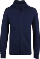 Cp Company Navy Goggle Hood Sweatshirt