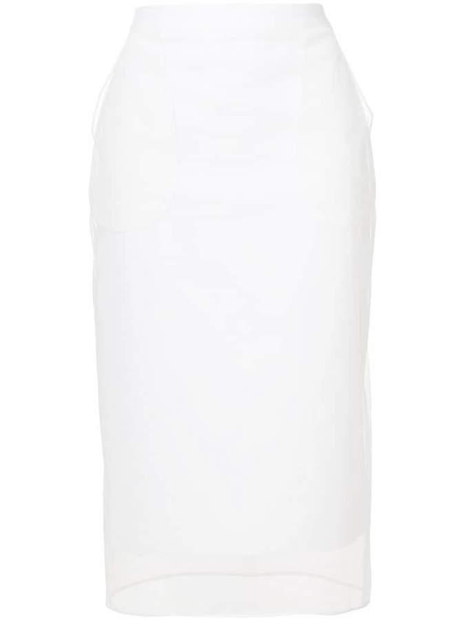 Givenchy mid-length pencil skirt