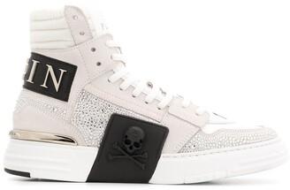 Philipp Plein Phantom Kick$ high-top sneakers