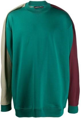 Y/Project drape panel sweatshirt