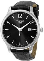 Tissot Men's Tradition T063.610.16.087.00 Leather Swiss Quartz Watch