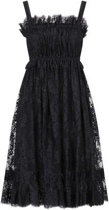 Dolce & Gabbana Lace Mid-Length Dress