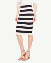 Ann Taylor Home Skirts Striped Sweater Pencil Skirt Striped Sweater Pencil Skirt