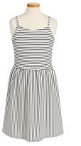 Ruby & Bloom Girl's Novelty Stripe Dress