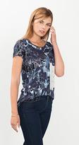 Esprit OUTLET flowing floral print t-shirt