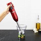 Crate & Barrel Cuisinart 2-Speed Smart Stick Metallic Red Hand Blender