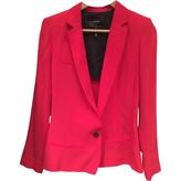 Isabel Marant Red Viscose Jacket