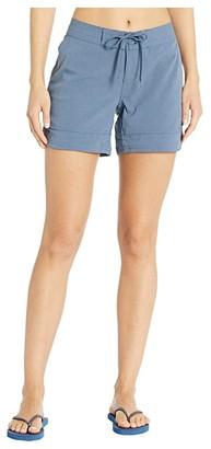 Prana Ebelie Boardshorts (Nickel) Women's Swimwear