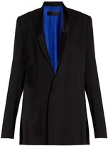 Haider Ackermann Cantar double-breasted crepe jacket