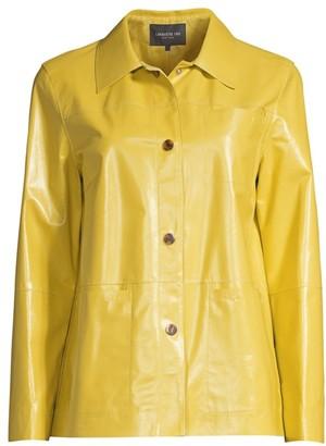 Lafayette 148 New York Wellesley Leather Jacket