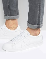 Armani Jeans Logo Trainers