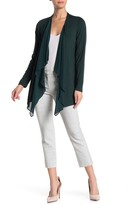 Calvin Klein Waterfall Draped Cardigan
