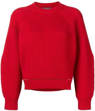 Alexander McQueen chunky knit sweater