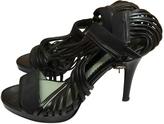 Max Mara Black Leather Heels