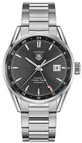 Tag Heuer Carrera Twin-Time Stainless Steel Watch