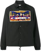 Facetasm The Last Supper shirt jacket - men - Cotton/Acrylic/Polyester - 4