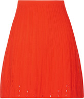 Tanya Taylor Vick textured modal-blend skirt