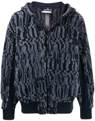 Stone Island Shadow Project Zip-Up Knit Jacket