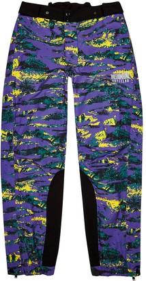 Billionaire Boys Club Purple printed shell sweatpants