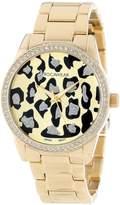 Rocawear Women's RL0110G1-046 Stylish Bracelet Enamel Bezel Watch