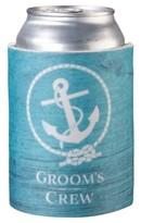 Aqua Groom's Crew Cup Cozy