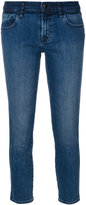 J Brand Sadey straight cropped jeans - women - Cotton/Polyurethane - 25