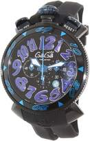 GaGa MILANO Men's 6054.1 Silicone Swiss Quartz Watch