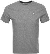 Psycho Bunny Classic Crew Neck T Shirt Grey
