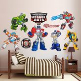 Fathead Transformers Rescue Bots Collection Wall Decals by