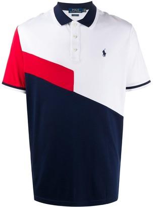Polo Ralph Lauren Color-Block Logo Polo Shirt