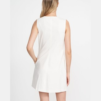 Theory Easy Shift Dress in Crunch Linen