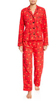 PJ Salvage Oh Deer Classic Pajama Set
