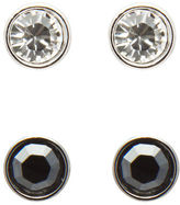 Swarovski NEW Harley Jet Hematite Earrings Set