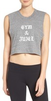 Private Party Women's Gym & Juice Crop Tank