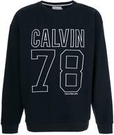 Calvin Klein Jeans embroidered logo sweater