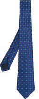 Gucci geometric woven tie