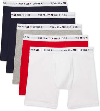 Tommy Hilfiger Men 5-Pk. Cotton Classics Boxer Briefs