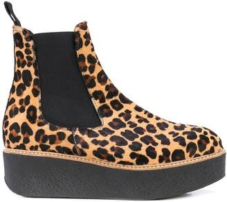 Flamingos Pooky leopard boots
