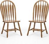 Asstd National Brand Oakmont Set of 2 Detail Side Chairs