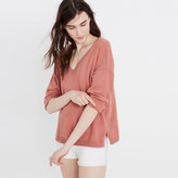 Madewell Double-V Pullover Sweater