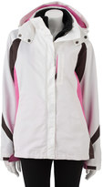 Excelled Women's Excelled Hooded Colorblock Systems Jacket
