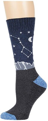 Socksmith Shoot For The Stars (Navy) Crew Cut Socks Shoes